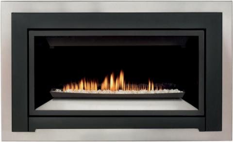 Scan fireplace insert