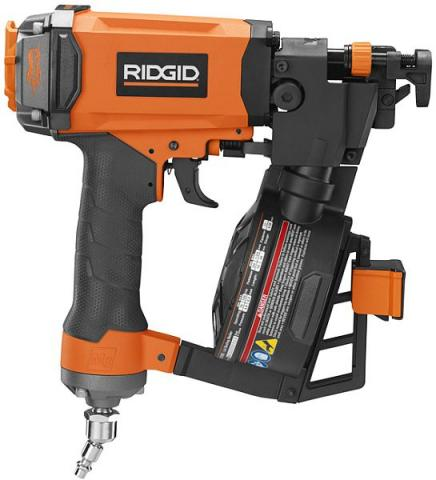 RIDGID Coil Roofing Nailer number R175RNE