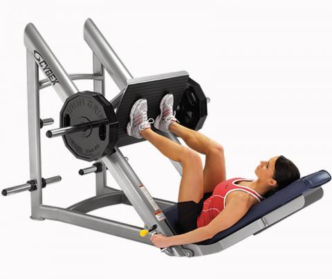 Cybex leg press model 16110
