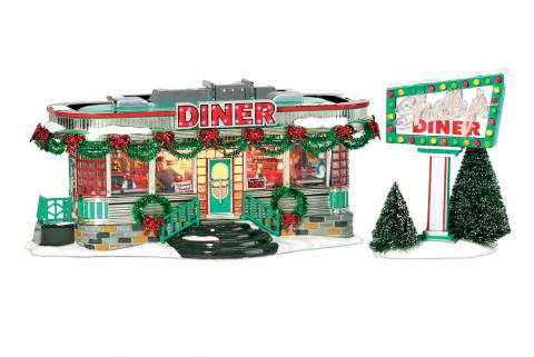 Shelly's Diner Collectible