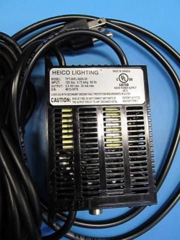 HEICO Lighting power supply transformer, model TFT-06PL-9000-30