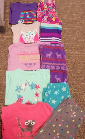 Recalled Target children's two-piece pajama sets