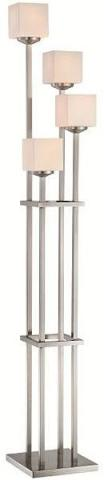 Dolan Burien 1117-SS Stainless Steel Floor Lamp