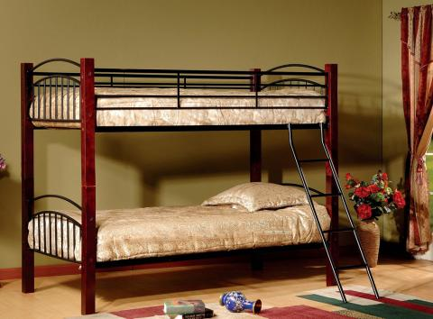 Twin Over Twin Bunk Bed, Model # 341 33