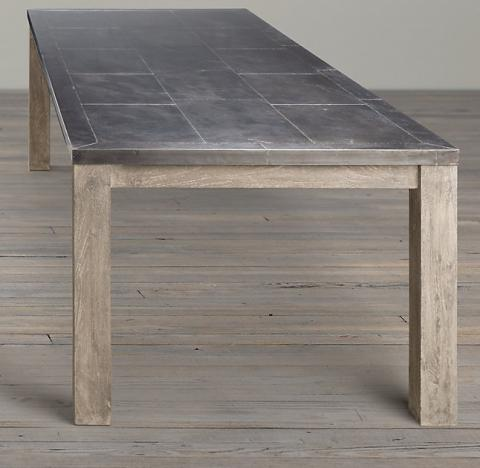 Parsons Railroad Tie dining table