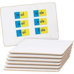 One-sided boards (set of six)