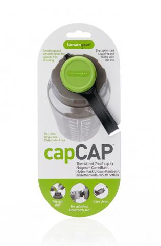capCAP water bottle cap packaging