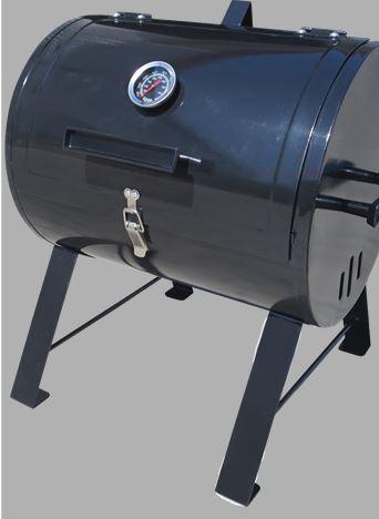 Living Traditions Mini Barrel Charcoal Grill