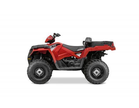 Polaris 2015 Sportsman X2 570 EPS Indy Red
