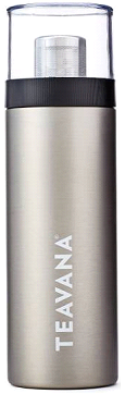 Recalled Teavana flip tumbler in silver