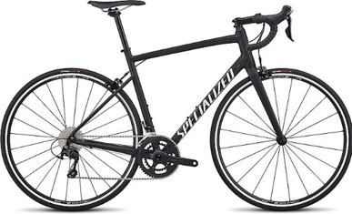 2018 Specialized Allez Elite in Satin Black/White Clean