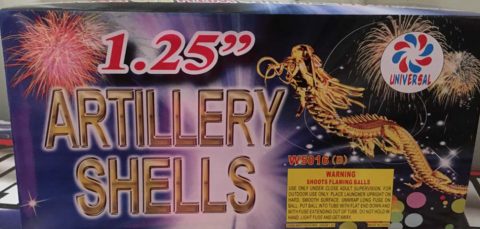 GS Fireworks Recalls Fireworks Due to Violation of Federal Standards