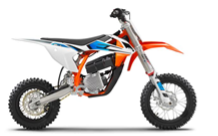Recalled 2021 KTM SX-E 5 motorcycle
