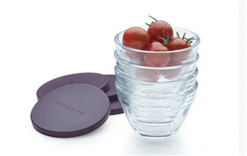 Recalled Epicure Glass Prep Bowls