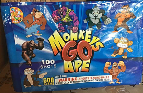 Monkey Go Ape 100 Shot