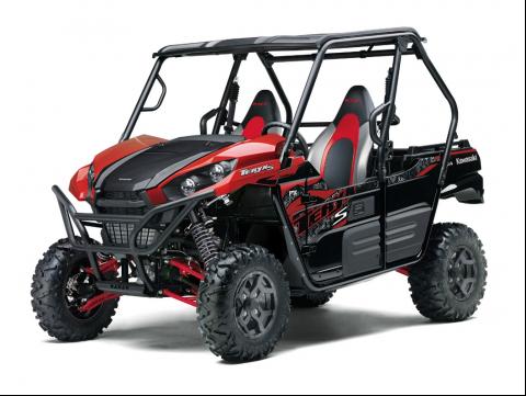 Recalled Model Year 2021 TERYX S LE RED – Model KRF800J