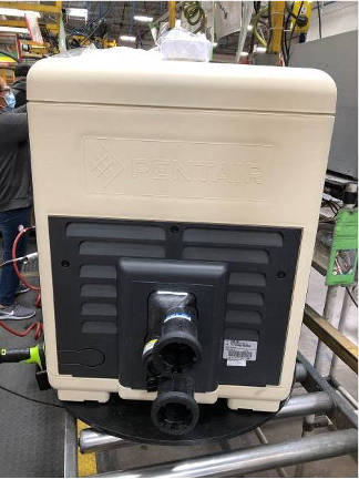 Recalled Mastertemp pool heater