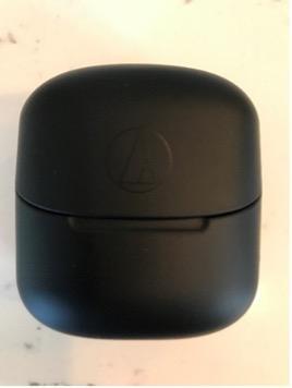 Recalled Audio-Technica Wireless Headphones (Model ATH-CK3TW) charging case – front view