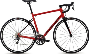 2018 Specialized Allez in Gloss Rocket Red/Tarmac Black