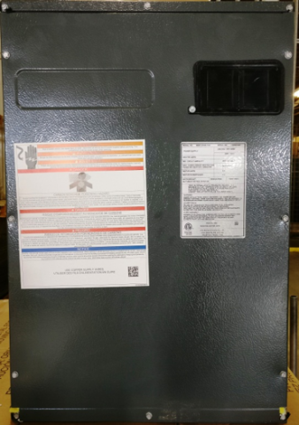 Modular Blower with Incorrect Serial Number Label
