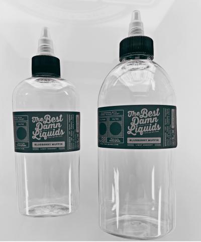 "Recalled ""The Best Damn Liquids"" branded liquid nicotine packaging"