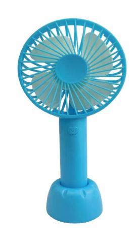 Recalled rechargeable handheld fan -blue