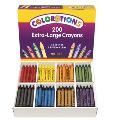 Discount School Supply Recalls Crayons Due to Laceration Hazard (Recall Alert)