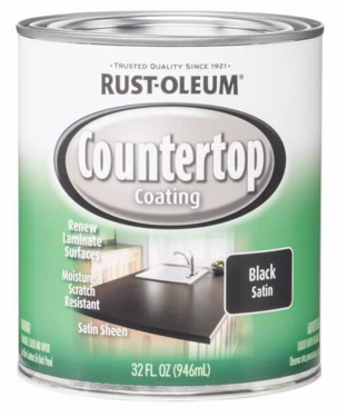 Recalled can of black satin countertop coating