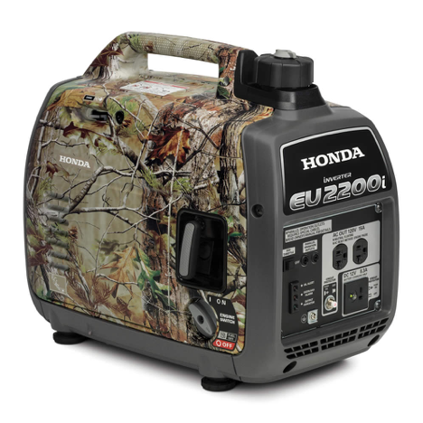 EU2200i portable generator in Camo