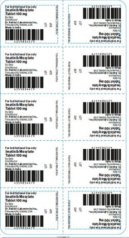 Recalled Dr. Reddy's Imatinib Mesylate Tablets 100 mg