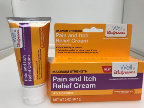 Walgreens Pain and Itch Relief Cream Recalled