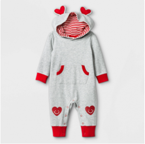 Recalled Cat & Jack Baby Heart Ears Romper