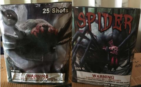 Spider 25 Shot Cake