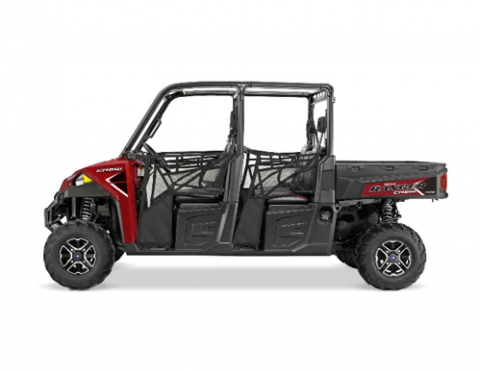 Polaris 2016 Ranger Crew XP 900 in Sunset Red
