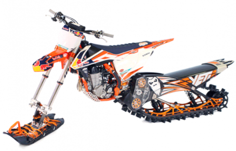 Recalled Yeti Snow MX conversion kit model year 2018