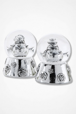 Recalled Coldwater Vintage Charm snow globes