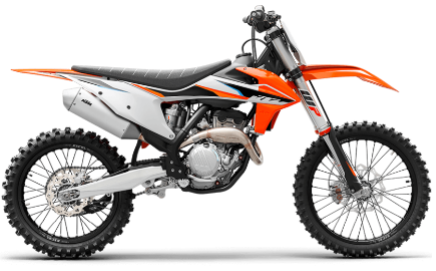 Recalled 2021 KTM 250 SX-F motorcycle