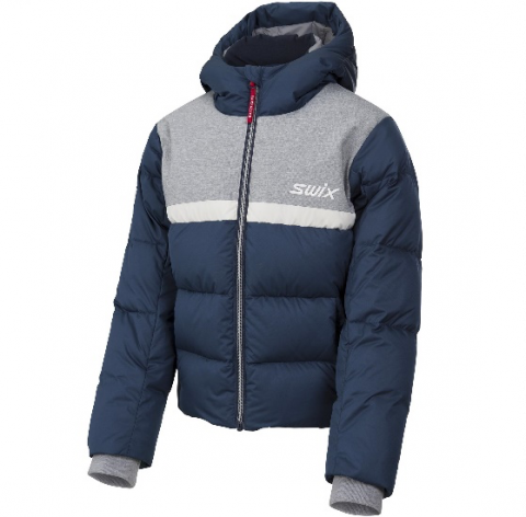 Recalled Swix branded Focus Down Jacket Jr. (Blue)