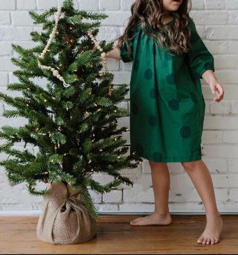 Recalled La Paloma Girl's Nightgown – Evergreen