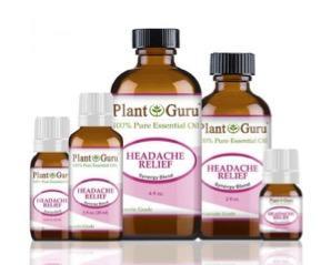 Recalled Headache Relief Essential Oil Blend