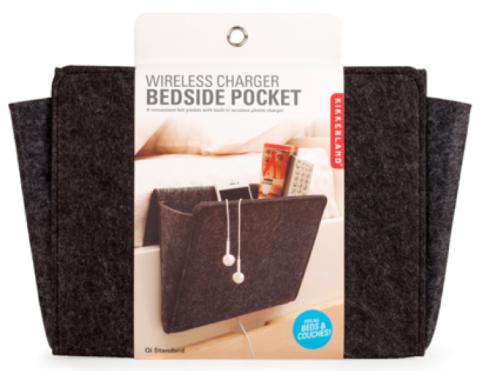 Recalled Kikkerland wireless charger bedside pocket