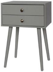 Recalled Style of J Hunt Home Accent Table with Charging Receptacle (FR10084)