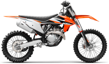 Recalled 2021 KTM 350 SX-F motorcycle