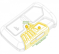 Recalled Avalanche Transceiver Switch Mechanism (Off/Search/Send modes)