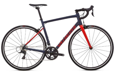 2018 Specialized Allez Sport in Satin Navy/Gloss Nordic Red