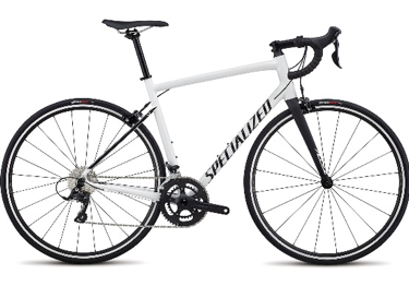 2018 Specialized Allez Sport in Gloss Cosmic White/Satin Black