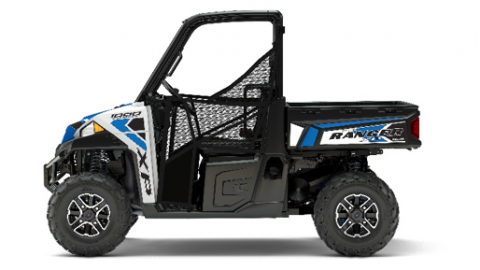Polaris 2017 Ranger XP 1000 in White Lightning
