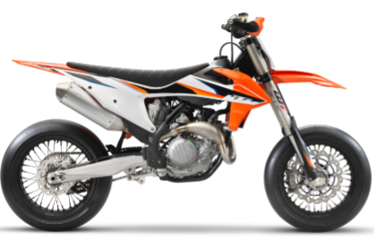 Recalled 2021 KTM 450 SMR motorcycle