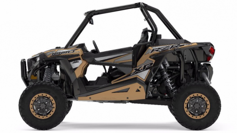 2017 RZR XP 1000 – Gold Matte Metallic