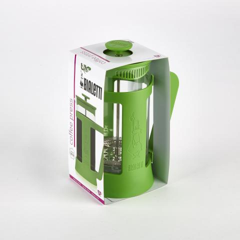 Bialetti coffee press in packaging